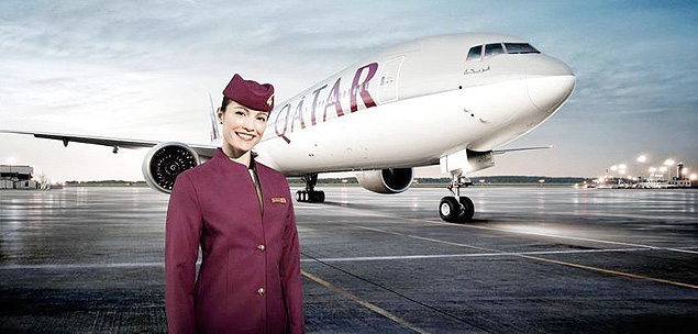 Comissárias da Qatar Airways