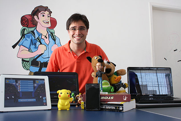 Caio Braz, fundador da empresa Backpacker