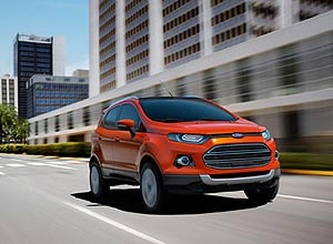 Vendas do novo EcoSport come�ar�o no segundo trimestre