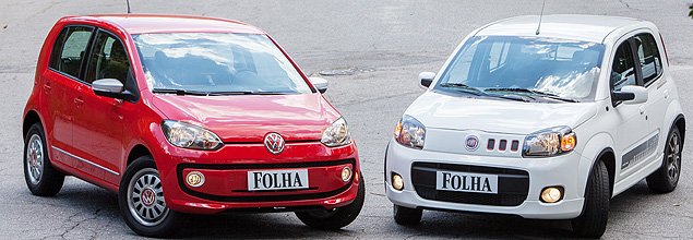 Volkswagen Up! enfrenta Uno Sporting