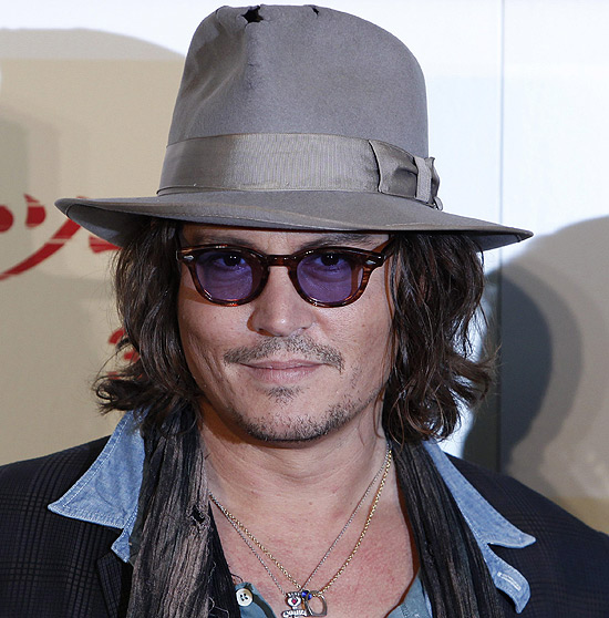 O ator Johnny Depp