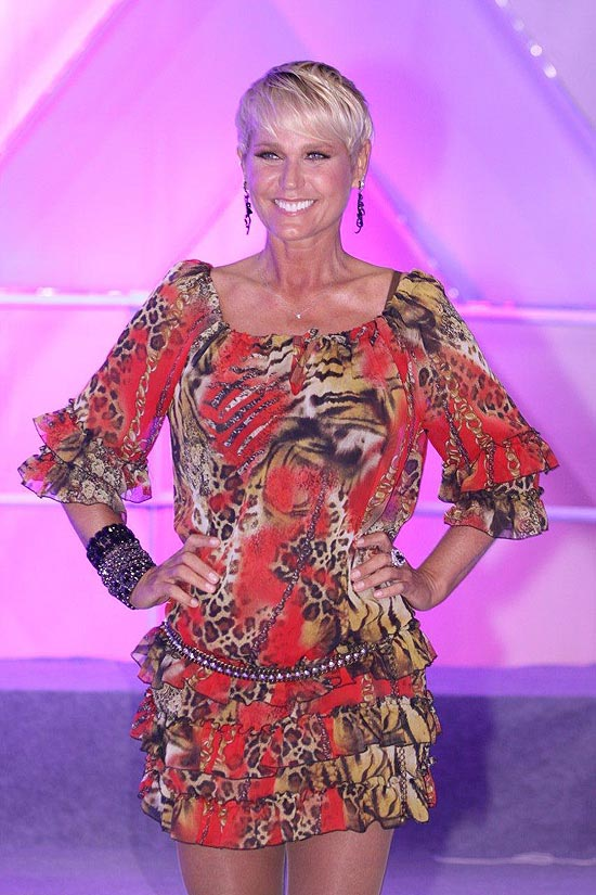 A apresentadora Xuxa