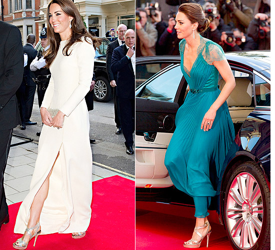 Kate e seu Jimmy Choo