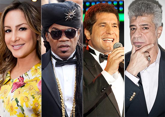 "Claudia Leitte, Carlinhos Brown, Daniel e Lulu Santos serão os técnicos do ""The Voice"""