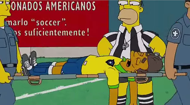 "Cena do episódio ""You Don't Have to Live Like a Referee"", de ""Os Simpsons"""