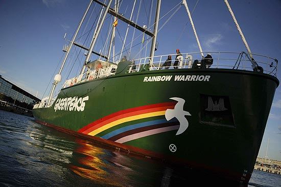 Greenpeace Rainbow Warrior coming to Rio for Rio +20