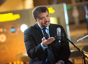o astrofísico americano Neil deGrasse Tyson – National Geographic Channels/Scott Gries