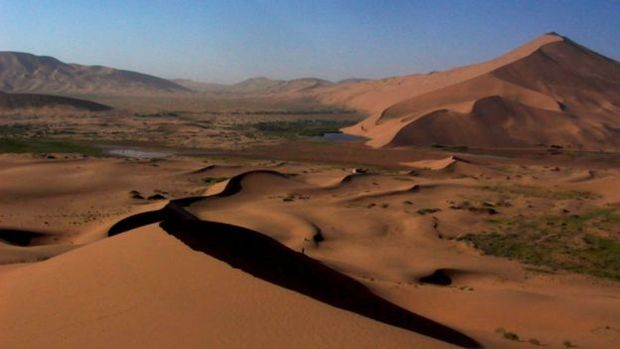 Deserto de Badan Jilin, na China, n�o produzia sons como no Marrocos