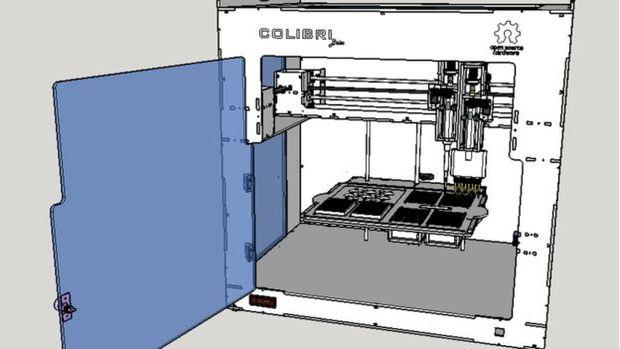 Projeto de uma pipetadora de baixo custo em desenvolvimento pelo biohacker Otto Heringer