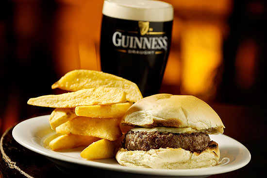 Guinness Cheeseburguer do pub All Black