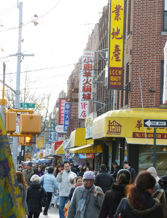 Chinatown de Sunset Park, NY
