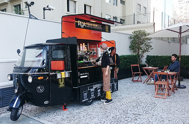 O truck Rua Coffee Roasters
