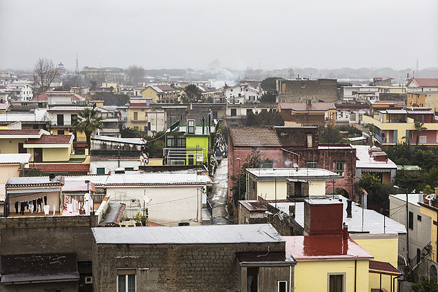 A view of San Vitaliano in Italy, which is one of the worst countries in Europe for air quality, Jan. 4th 2016. Outrage was guaranteed when San Vitaliano's mayor, Antonio Falcone, issued an ordinance banning the use of wood-fired stoves and fireplaces not equipped with pollutant-reducing filters, most pointedly affecting wood-burning pizzerias. �I became the anti-pizza mayor,� he says. �I am responsible for the health of the citizens of this town. We had to start somewhere.� (Gianni Cipriano/The New York Times)