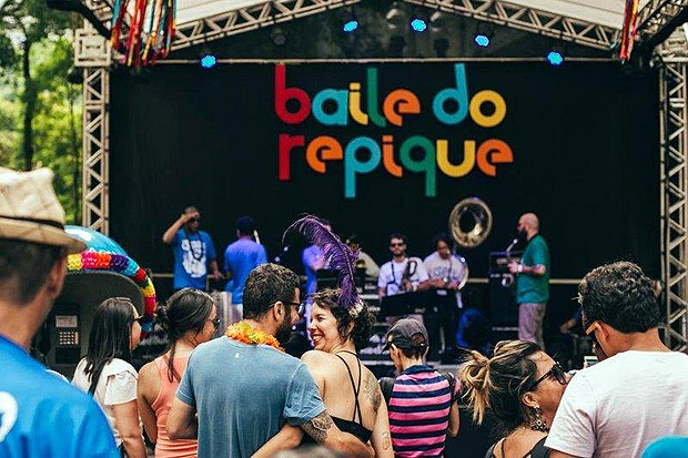 Baile do Repique re�ne seis blocos de rua na regi�o central de SP