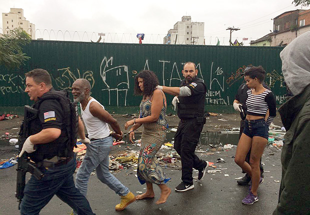Brazilian police raid Sao Paulo Crackland and make arrests