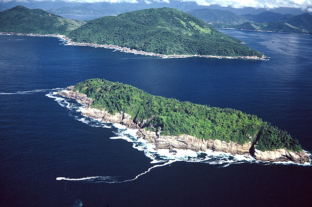 Alcatrazes is a Brazilian archipelago, located some 35 km south of São Sebastião