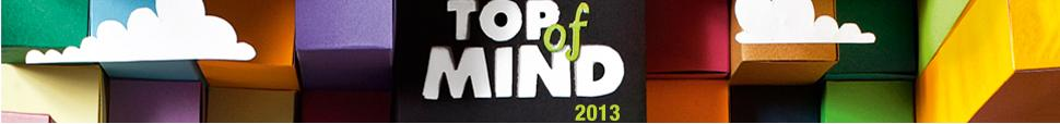 Top of Mind 2013