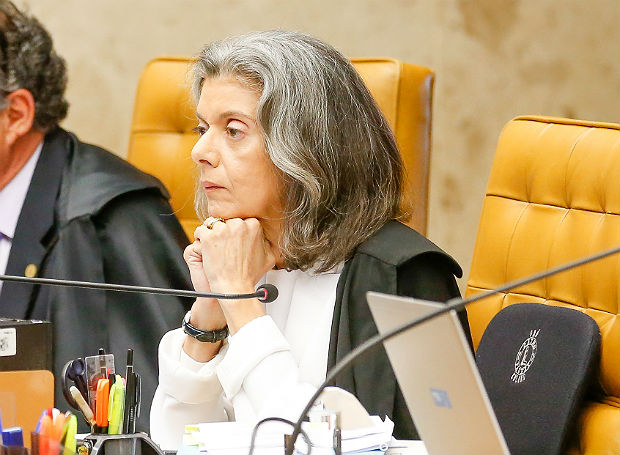 A ministra do Supremo Tribunal Federal Carm�n L�cia