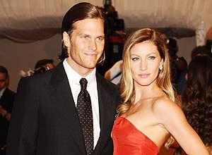 Gisele Bundchen e Tom Brady – Peter Kramer/Associated Press