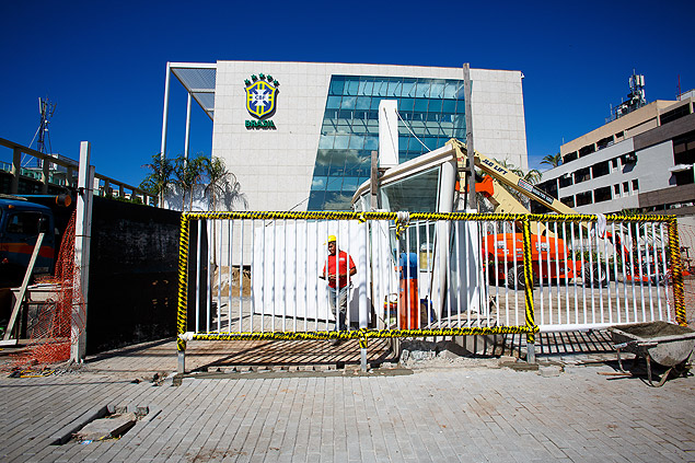 The new headquarters of the Brazilian Football confederation (CBF) will cost at least twice as much as it made in profit in 2013