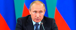 O presidente russo, Vladimir Putin – Ria Novosti/Kremlin/Associated Press