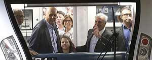 Temer na abertura da Linha 4 do Metrô – Diego Padgurschi/Folhapress