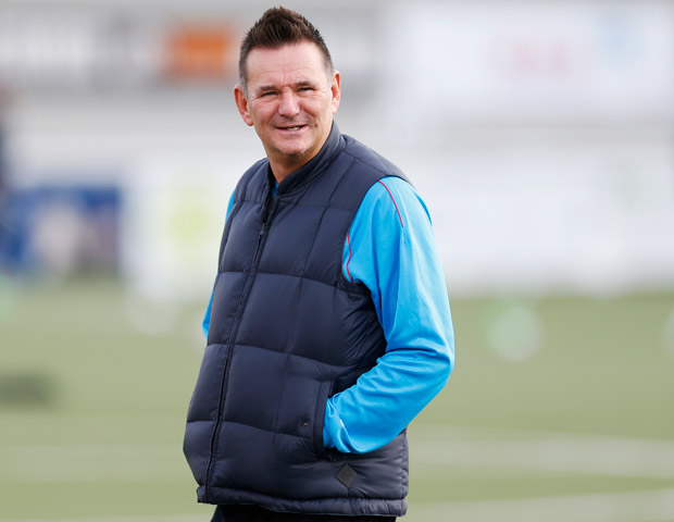 Britain Football Soccer - Sutton United Media Day - FA Cup Fifth Round Preview - The Borough Sports Ground - 16/2/17 Sutton United manager Paul Doswell during the media day Action Images via Reuters / Matthew Childs Livepic ORG XMIT: UKZTN1
