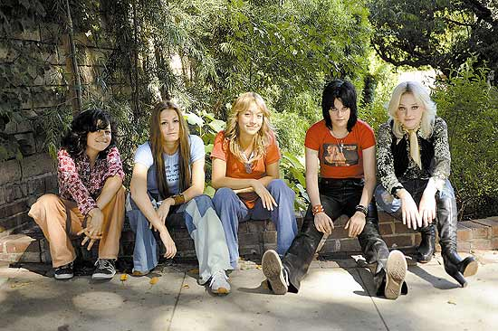 "Elenco do do filme ""The Runaways"""