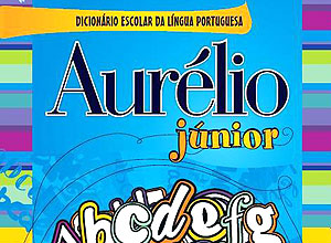 "Capa do dicionário ""Aurélio Junior"""