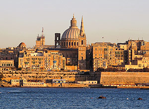 Valleta, capital da ilha de Malta – Igor Gielow/Folhapress