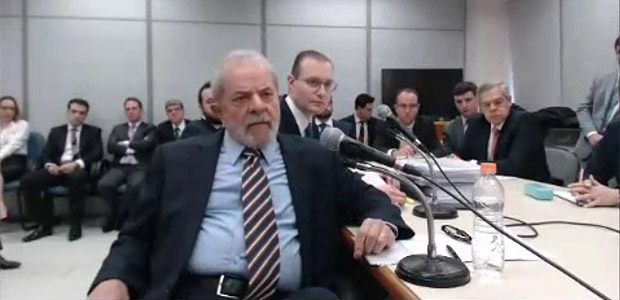 Former president Lula da Silva gave his second testimony to judge Sergio Moro