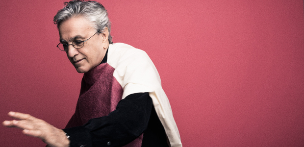 Singer and songwriter Caetano Veloso