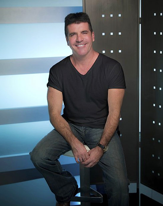 "Simon Cowell, o criador do ""X Factor"""