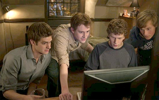 "Cena do filme ""The Social Network"""