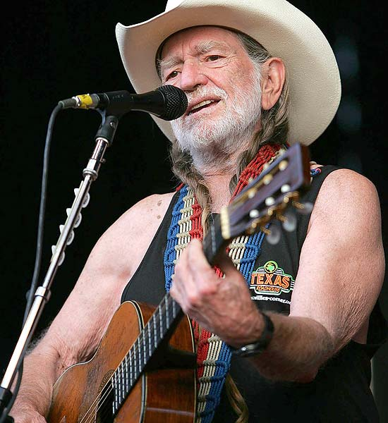 O cantor Willie Nelson