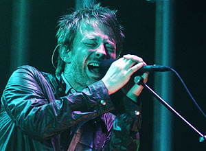 O cantor Thom Yorke, da banda Radiohead – Jim Ross/AP/The Canadian Press