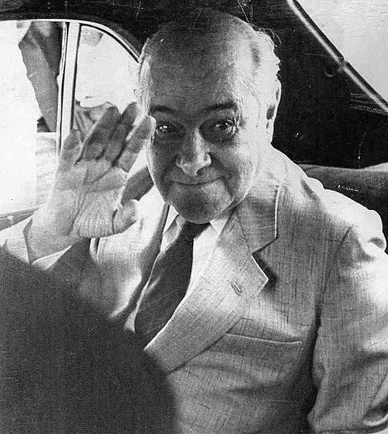 O presidente Tancredo Neves (1910-1985) em foto de 1984