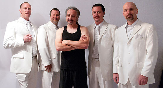 Integrantes da banda americana de rock Faith No More