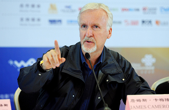 O cineasta James Cameron