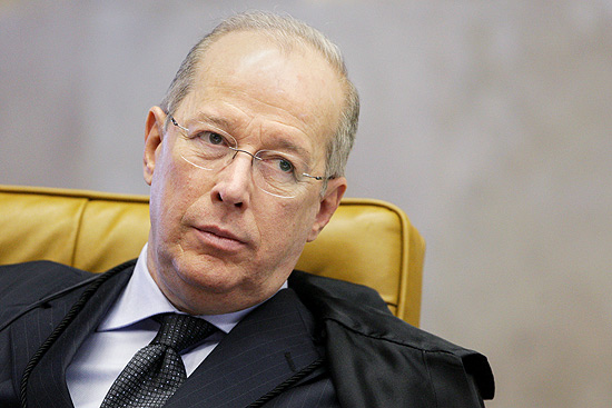 O ministro decano do STF (Supremo Tribunal Federal), Celso de Mello