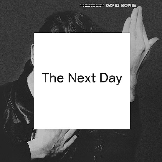 "Capa do disco novo de David Bowie, ""The Next Day"", já disponível no iTunes"