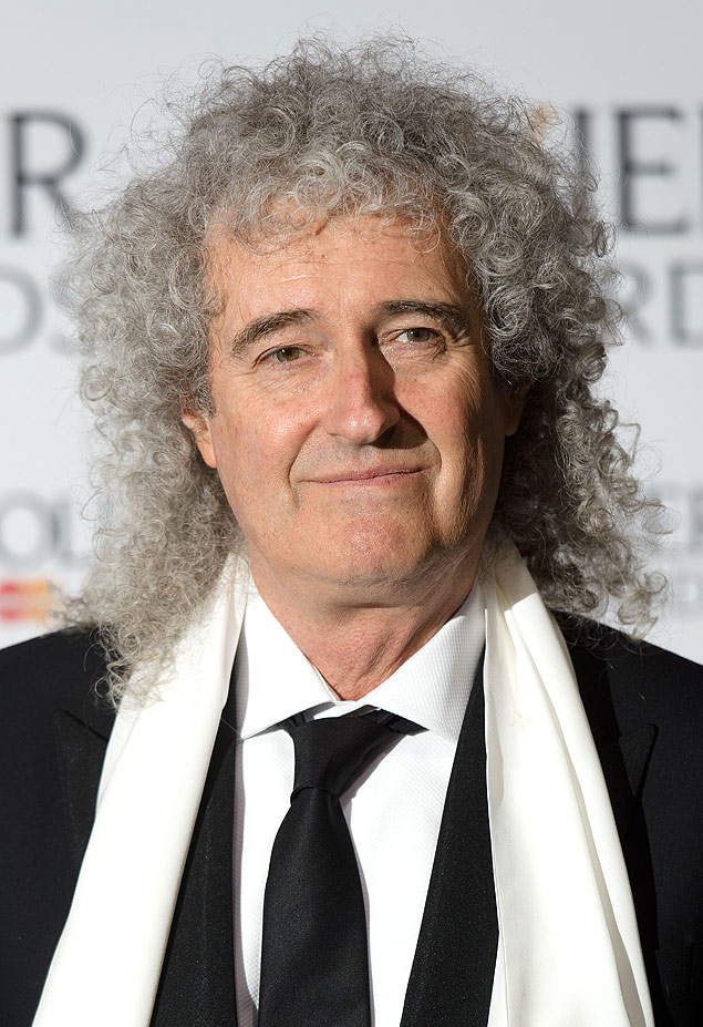 O m�sico brit�nico Brian May