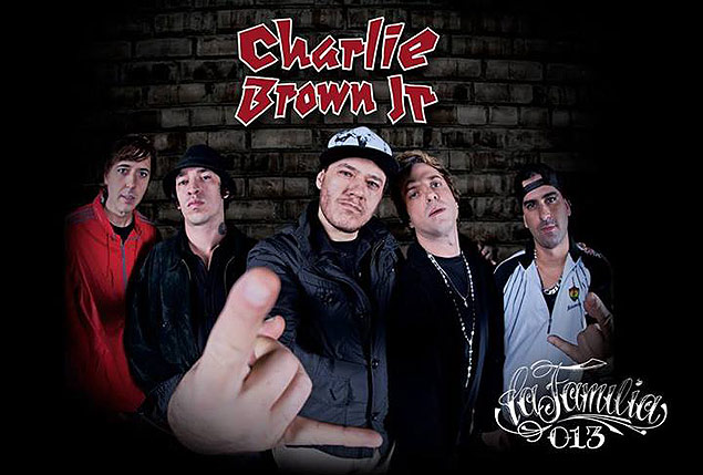 Capa do disco 'La Familia 013', o �ltimo de Chor�o com Charlie Brown Jr.
