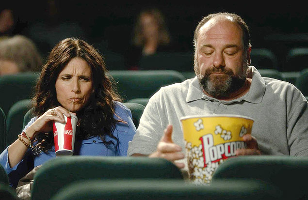After James Gandolfini's death this past June, the actor's turn in <em>Enough Said, </em>where he stars opposite Julia Louis-Dreyfus as a man looking for a second chance at love, has taken on a tinge of the bittersweet. ***DIREITOS RESERVADOS. NÃO PUBLICAR SEM AUTORIZAÇÃO DO DETENTOR DOS DIREITOS AUTORAIS E DE IMAGEM***