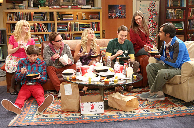 "Cena da série ""The Big Bang Theory"""