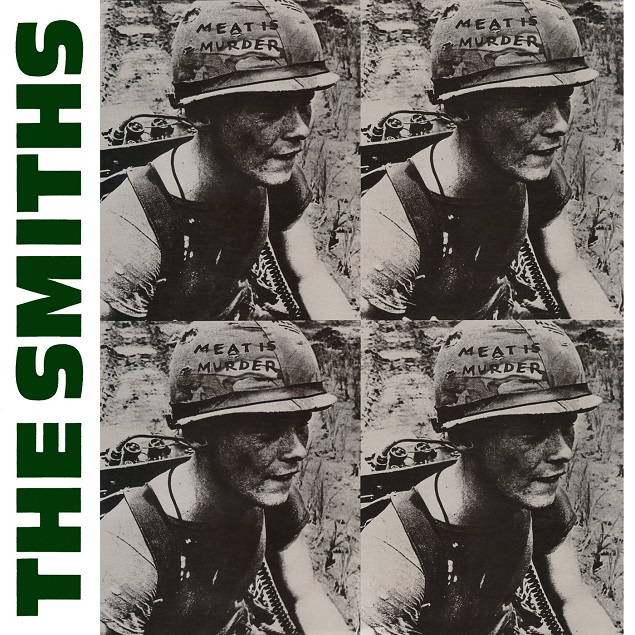 "Capa de ""Meat is Murder"", �lbum do The Smiths"