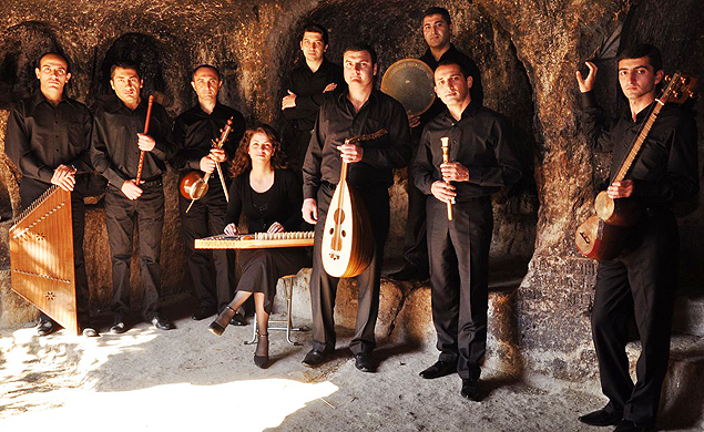 Grupo armênio The Gurdjieff Folk Instruments Ensemble