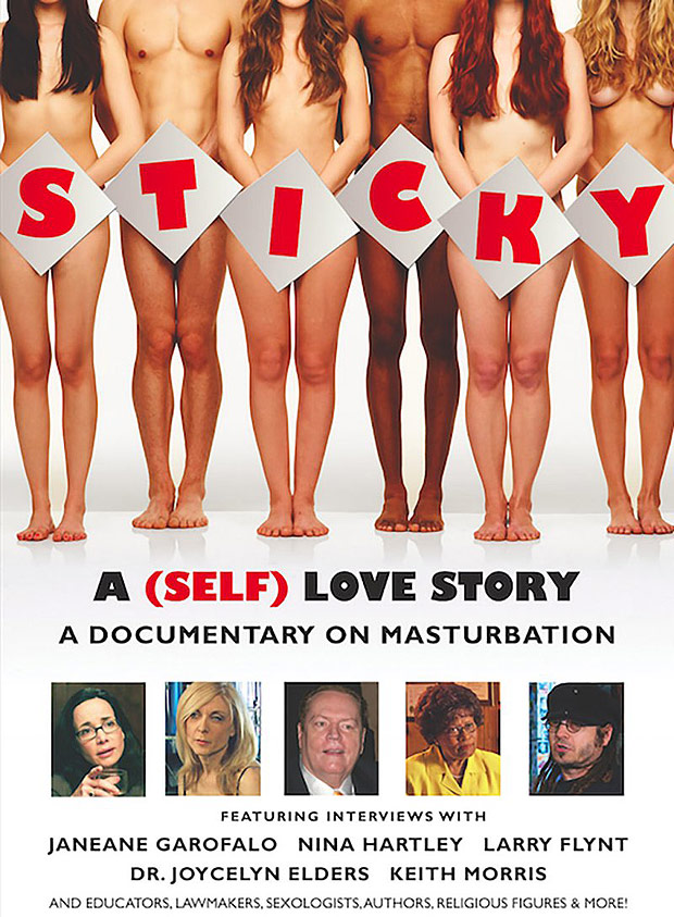 "Pôster do documentário ""Sticky: A (Self) Love Story"", de Nicholas Tana"