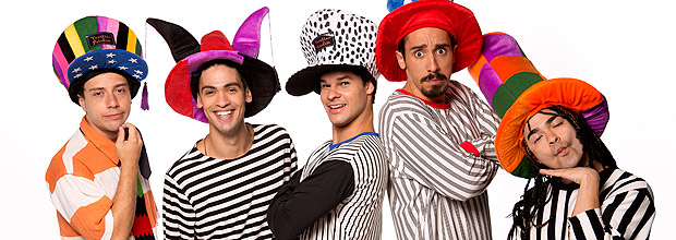 "Elenco de ""O Musical Mamonas"""