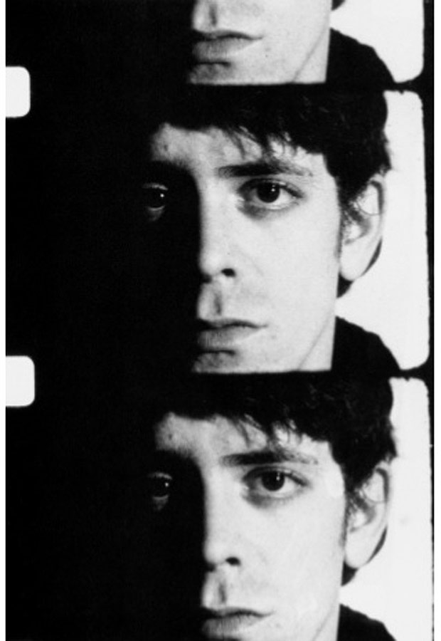 Lou Reed em fotografia do Andy Warhol